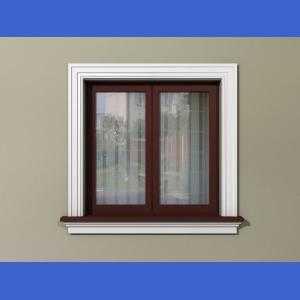 Oprawa okien na zewnątrz - Zestaw rustykalny ZR3