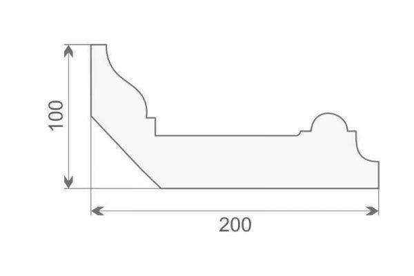 Faseta elewacyjna dekoracyjna FE-8