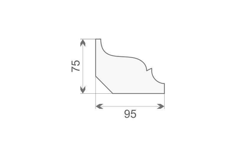 Faseta elewacyjna ozdobna FE10