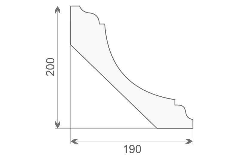 Faseta elewacyjna styropianowa FE-3