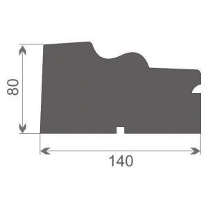 Gzyms elewacyjny okienny GE6A
