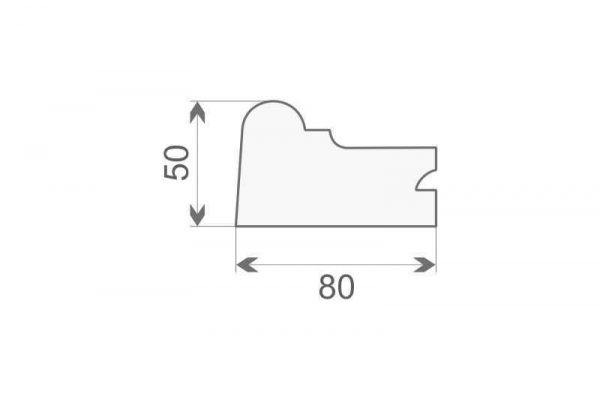 Gzyms elewacyjny zewnętrzny GE-7