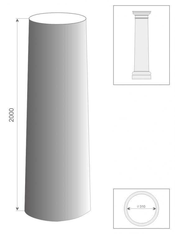 Kolumna jońska TK2/300