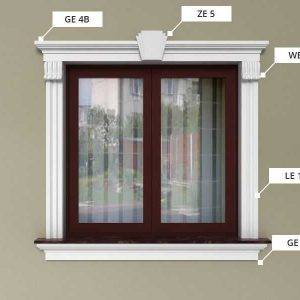Oprawa okienna - Zestaw klasyczny ZKL5