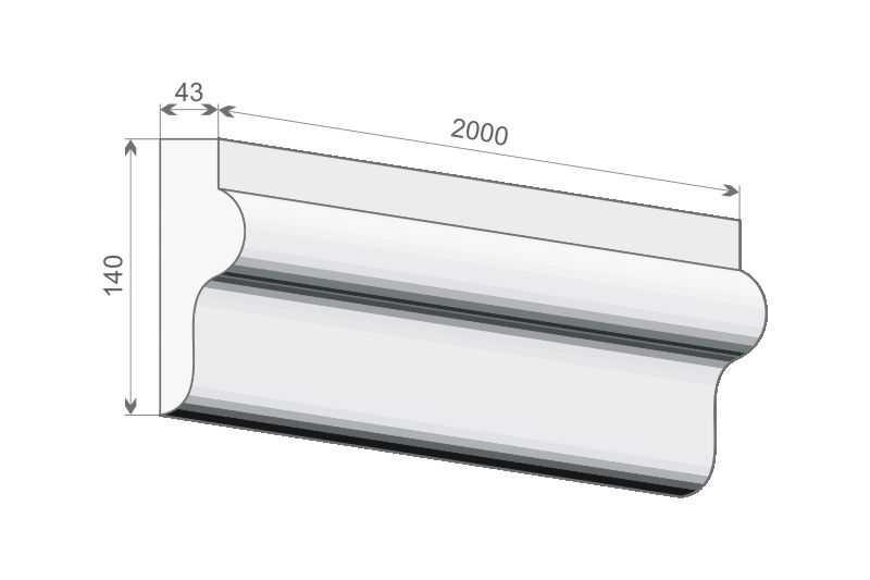 Ramka wokół okna - Zestaw klasyczny ZKL4