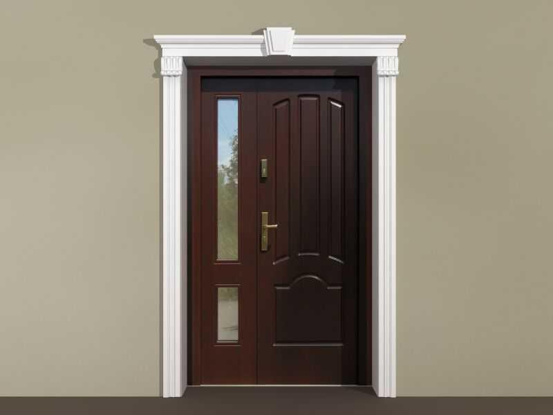 Sztukateria wokół drzwi - Zestaw klasyczny ZKL2