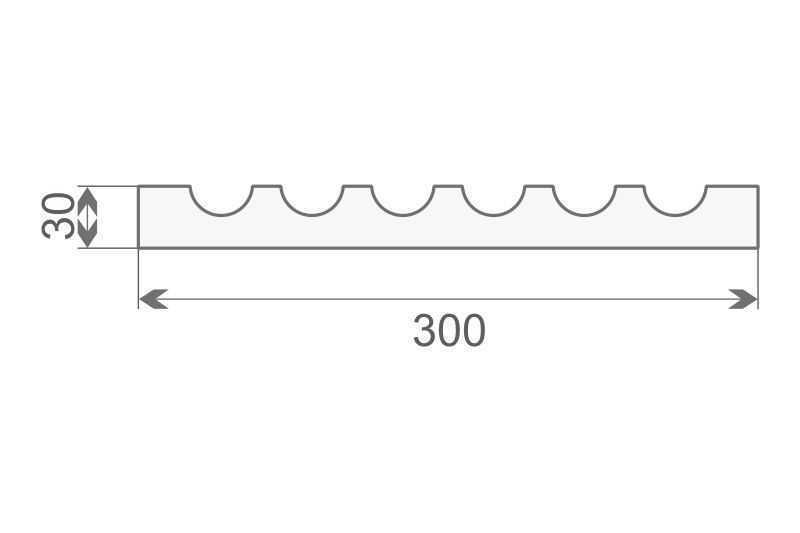 Trzon pilastra - PE-1/300