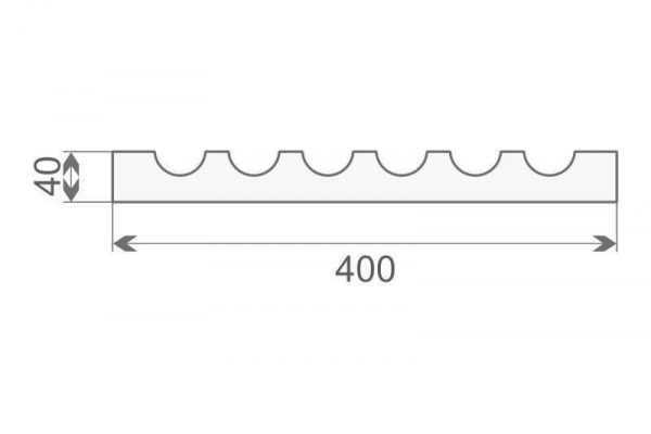 Trzon pilastra - PE-1/400