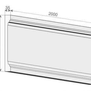 Trzon pilastra PE2/350