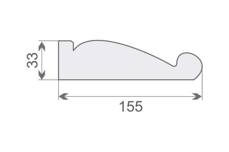 Wspornik elewacyjny styropianowy WE1