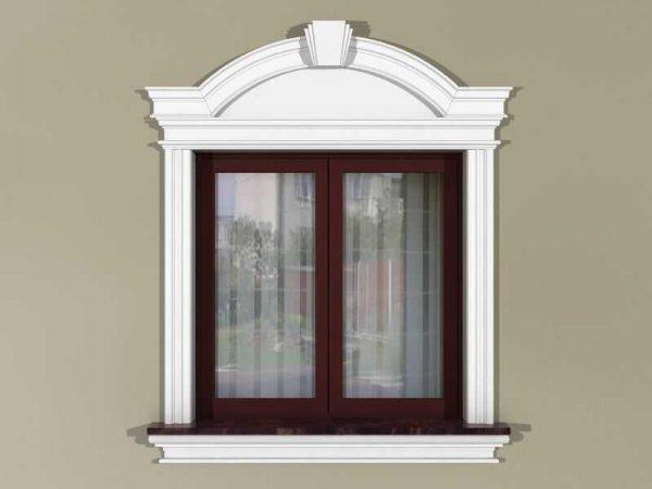 Zestaw okienny w stylu angielskim ZEN3