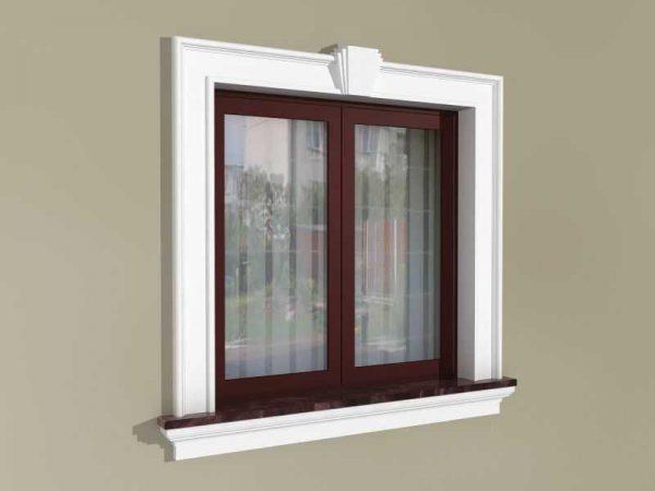 Zestaw okienny w stylu angielskim ZEN4